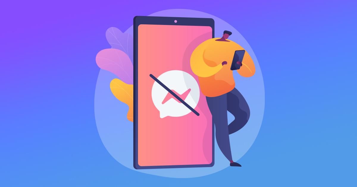 Jak wysłać wiadomość do kogoś, kto zablokował Cię na Messengerze